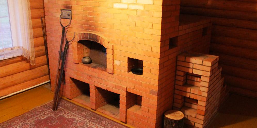 Отдых в Беларуси. Печь с лежанкой. Белорусская кухня